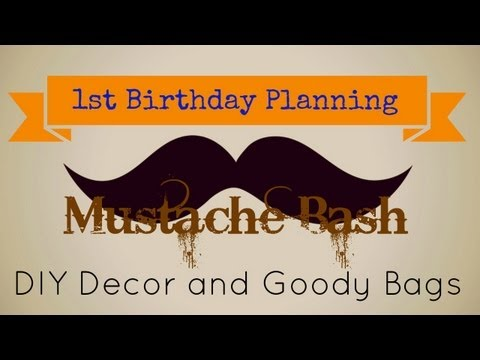 Birthday Party Planning #2 - DIY Decor And Goody Bags