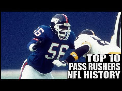 Top 10 Best Pass Rushers in NFL History - YouTube
