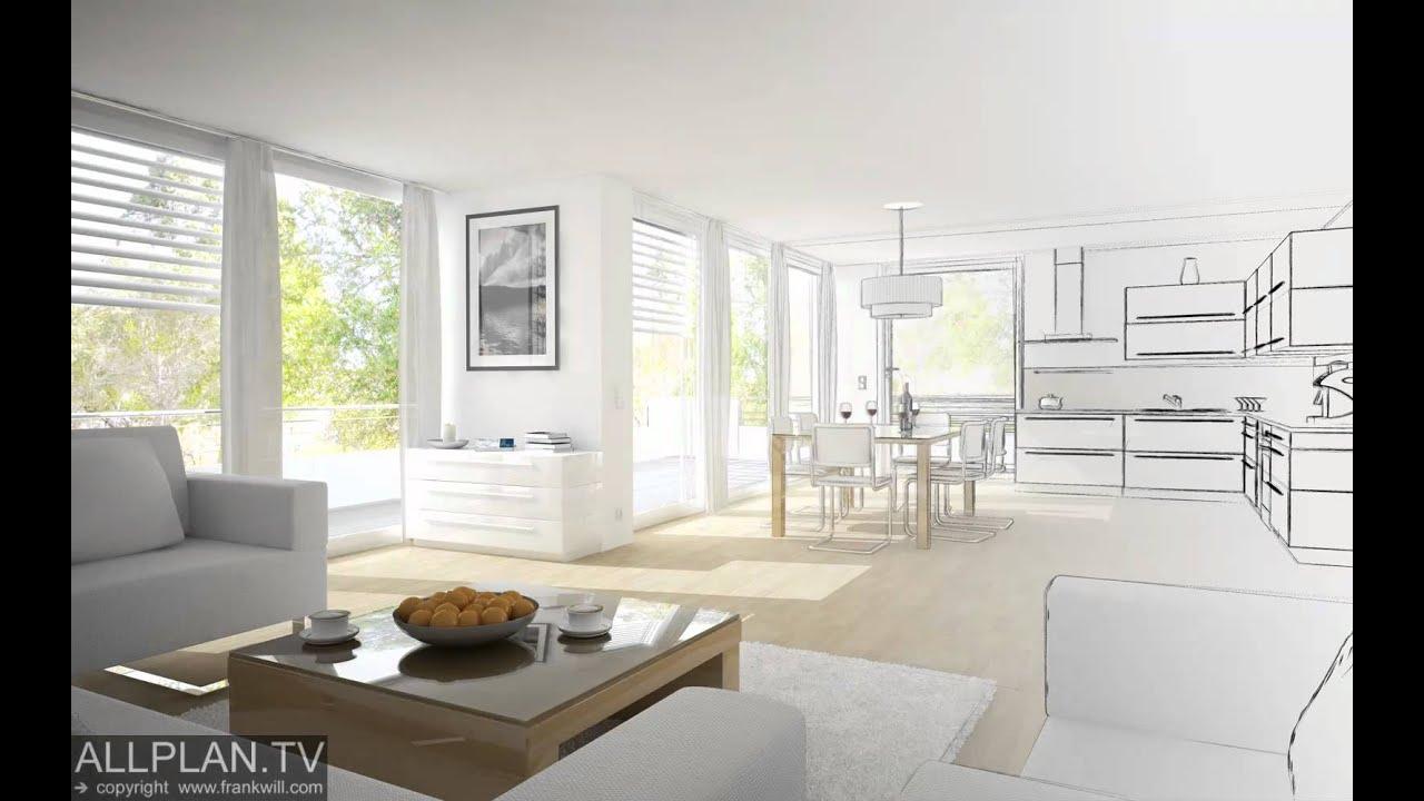ALLPLAN.TV - CAD DESIGN - Allplan and Cinema 4D - Design Workflow ...