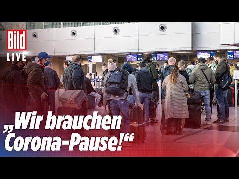 🔴  Deutsche fliehen vor dem Lockdown in den Urlaub | BILD LIVE