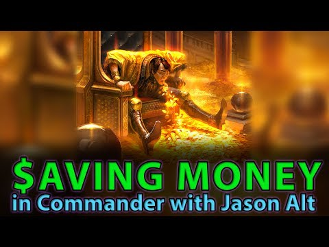 Saving MONEY in Commander with Jason Alt | The Command Zone #162 | Magic Podcast