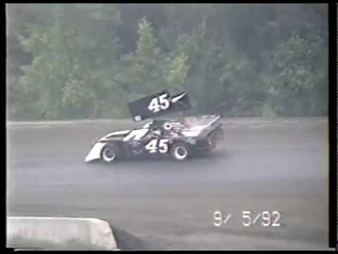 Michigan Track Hunt Stop #19 - Butler Motor Speedway - September 5, 1992