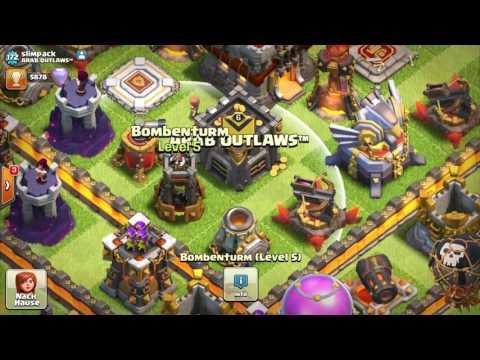 BOMBENTURM UPGRADE! || CLASH OF CLANS || Let's Play CoC [Deutsch/German HD+] NO1