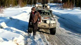 Vorkuta - Arctic winter 4x4 off-road expedition to north-eastern border of Europe - Nissan Patrol
