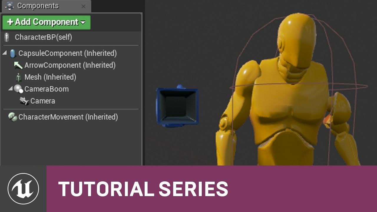 how to add first person blueprint in unreal
