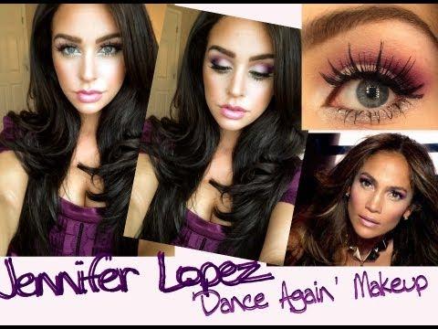 Jennifer Lopez Dance Again Makeup + Contest Giveaway! -CLOSED