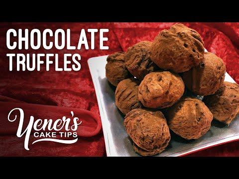 How To Make CHOCOLATE TRUFFLES Tutorial   Yeners Cake Tips With Serdar Yener From Yeners Way