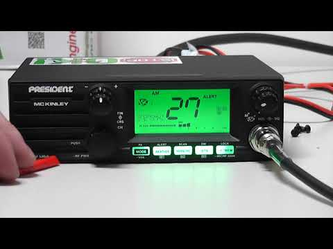 President McKinley AM SSB - New 2017 CB Radio Review