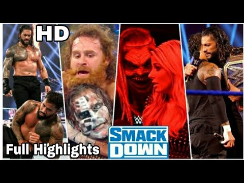 Download Wwe Smackdown 2nd October 2020 Highlights HD   Wwe Smackdown 10/02/2020 Highlights HD   SdLive today