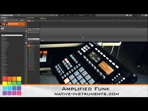 Maschine Packs: Native Instruments Amplified Funk Expansion Review