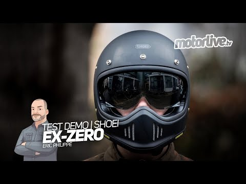 CASQUE SHOEI EX-ZERO | TEST DEMO EQUIPEMENT