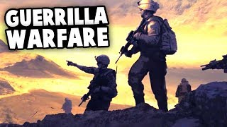 EPIC GUERRILLA WARFARE! Civ Meets Modern Wars! (Afghanistan