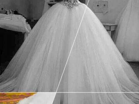 29d226336 اجمل فساتين زفاف 2018 جديدة