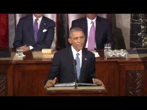 President Barack Obama announces mission to Mars - YouTube