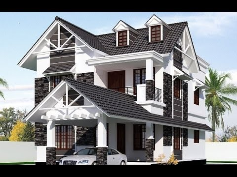 Construction almost completed low budget european style for Colonial style home design in kerala