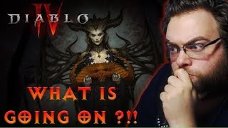 THIS LEFT ME SPEECHLESS !!!! - Diablo 4 Trailer Reveal - Nyhxius REACTS