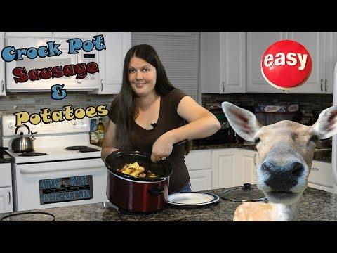 Crock Pot Sausage And Potato Recipe I Episode 65