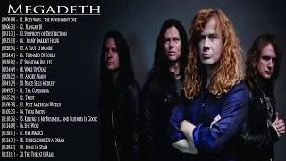Megadeth Greatest Hits 2018  Best Of Megadeth