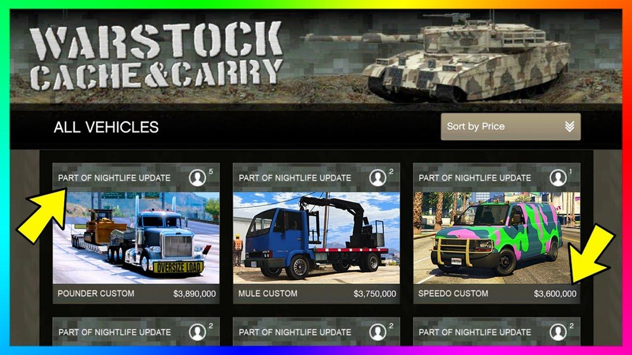 Corporate Car Online: GTA Online Nightclub DLC Update NEW Business Vehicles