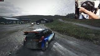 Hyundai i20 WRC Dirt Rally (logitech g29) gameplay