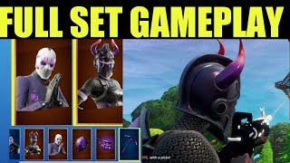 "How to Get ""DARK REFLECTIONS PACK"" Fortnite (Before You Buy) SHOWCASE Dark Red Knight, Dark Jonesy"