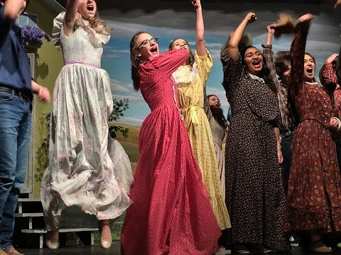Nixa Junior High Oklahoma Musical 2017