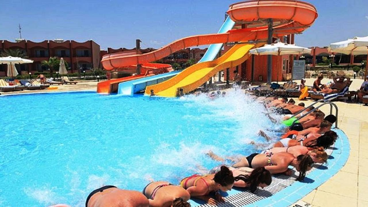 Top10 hotels with water slides or aqua park in marsa alam egypt