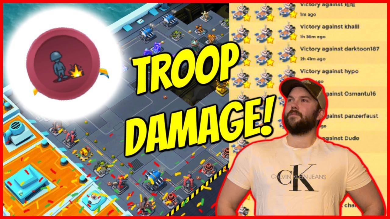 Troop Damage is THE KEY in Season 15! // Boom Beach Warships