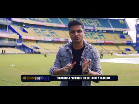 Follow The Blues: Virat Kohli & Co. are training hard for Celebrity Clasico