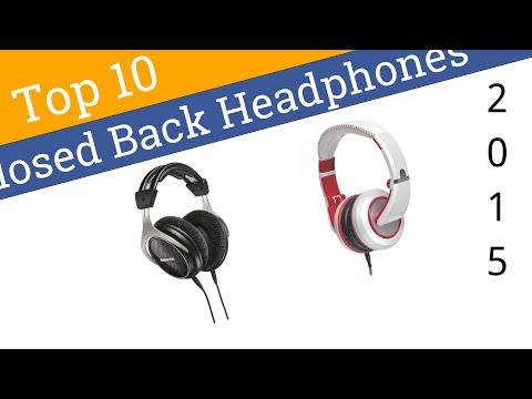 10 Best Closed Back Headphones 2015