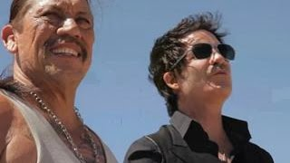 EXCLUSIVE! On Set With Danny Trejo, Hannah Simone and Train: The 'Angel in Blue Jeans' Shoot
