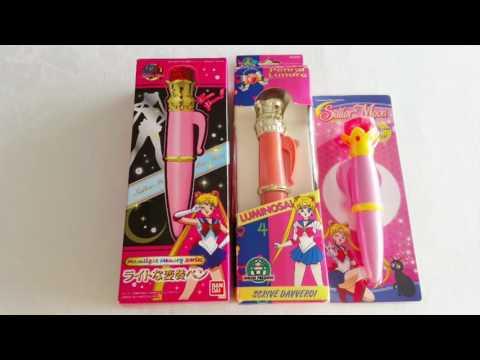 Sailor Moon Lunar Pen Penna Lunare Lipgloss Lucidalabbra