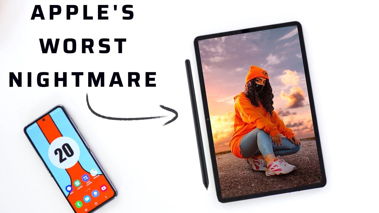 I Sold All My Apple Stock & ipad (Tab S8 Ultra)