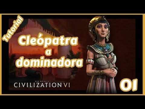 #01 - Civilization 6 - Tutorial do jogo com o Egito