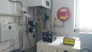 Как запустить газовый котел от электрогенератора?