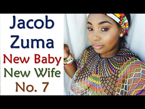 Jacob Zuma Just Got A New Baby And A New Wife No.  7