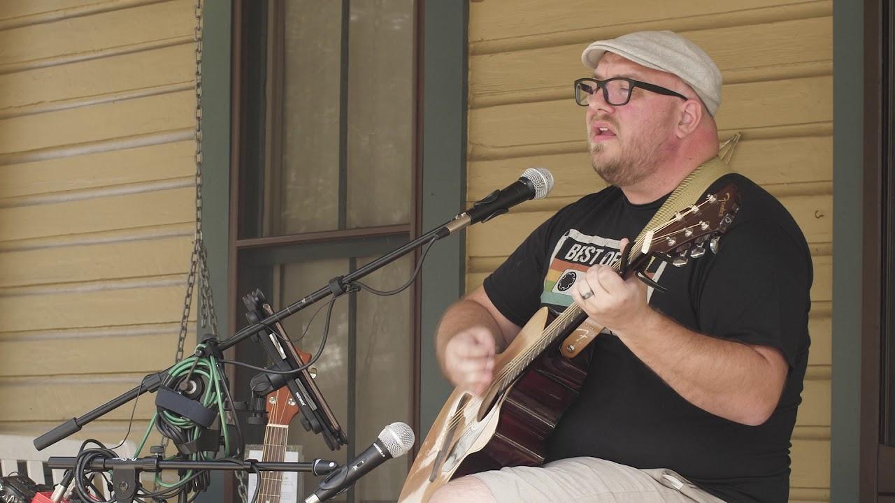 "Brent Terwilliger Performing ""Roam"" (original) at Sanford's 3rd Annual Porchfest"