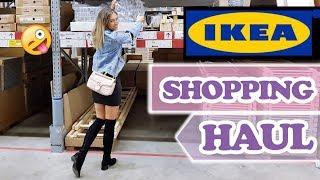 IKEA LIVE SHOPPING HAUL direkt bei Ikea - DAS habe ich alles eingekauft.
