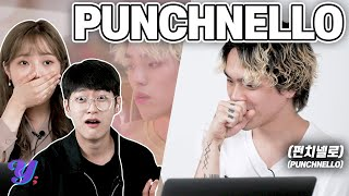 Korean Guy&Girl React To (AND MEET!) 'PUNCHNELLO' - New Song (AOMG K-HIP HOP)