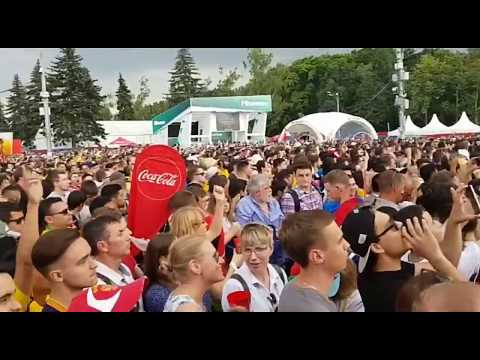 Moscow fans zone on final day FIFA world cup 2018, Sportswire Pakistan