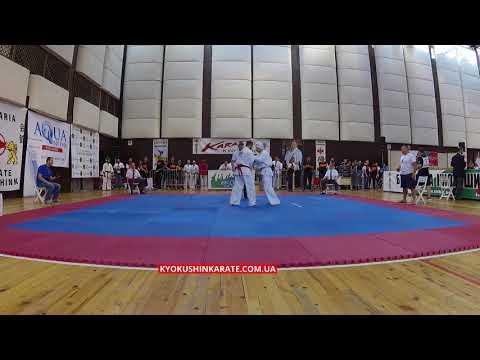-70, 1/8 Grzegorz Kedzierski (POL) - Anton Khyzhinskyi (UKR, aka)  - The 32nd European Championship