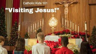 """""""VISITING JESUS!"""" Documentary - Catholic Kids101"""