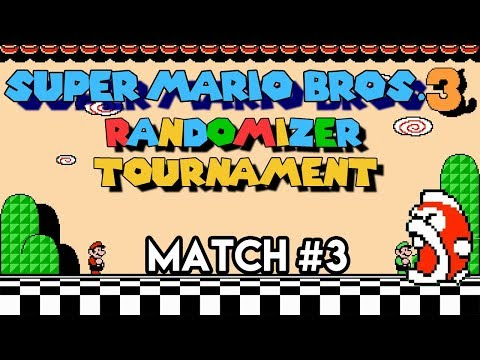 Super Mario Bros.3 Randomizer Tournament Match #3
