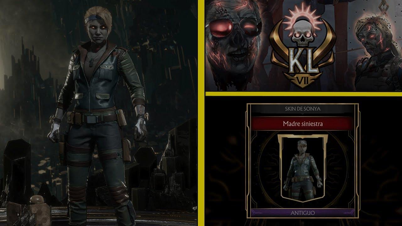 MK11 | Kombat League Skins | Sonya Blade: Madre Siniestra | Temporada VII