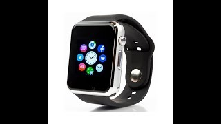 Самые дешевые smart watch A1 for iPhone Android обзор review