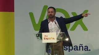 DISCURSO | Santiago Abascal en Burgos: el 28A nos jugamos España y la libertad