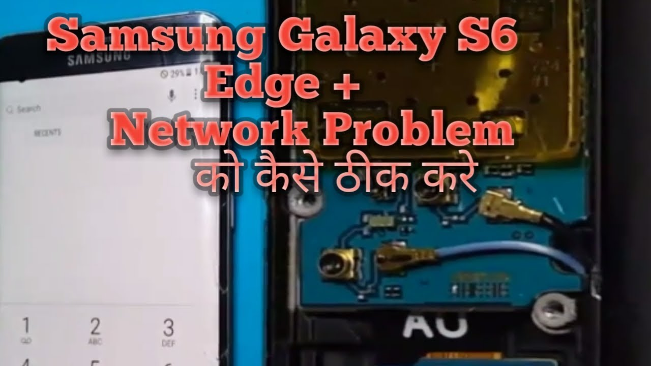 Samsung Galaxy S6 Edge+ No Signal Network Problem Antenna Repair