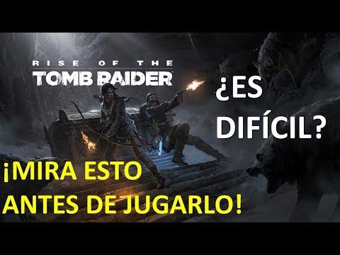 ¿ES DIFÍCIL EL PLATINO DE RISE OF THE TOMB RAIDER? - TRUCOS PARA LOGRARLO