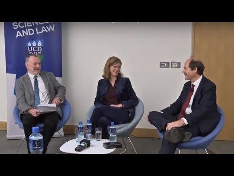 Samantha Power and Cass R. Sunstein Q&A following UCD Ulysses Medal Presentation