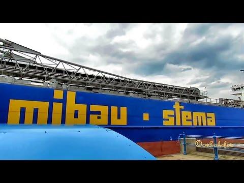 BULKNES V2EG6 IMO 9384370 Emden lock self unloader Selbstlöscher bulk carrier